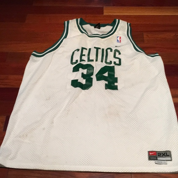 new product 91203 4498f Authentic Paul Pierce Celtics Jersey